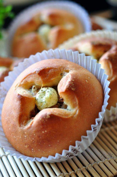 法式红酒金枪鱼面包