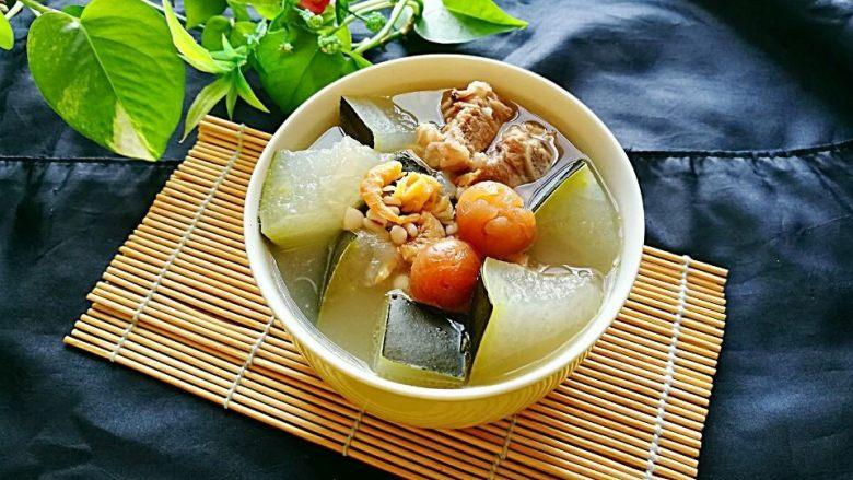 冬瓜海鲜排骨汤
