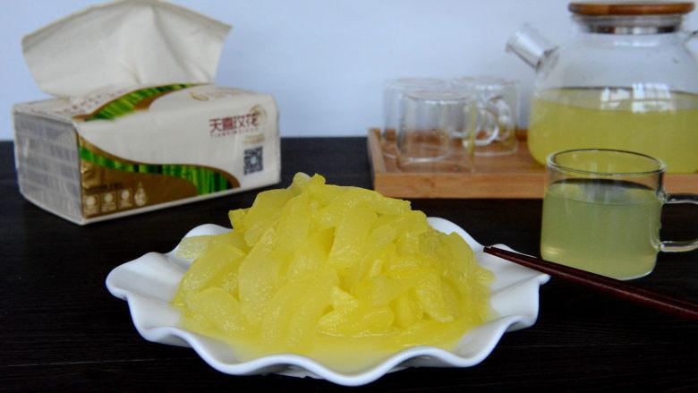 酸甜爽口的柠檬瓜条