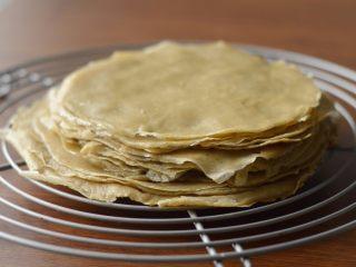 提拉米苏千层蛋糕(简易版奶油霜),一共做了十几张。