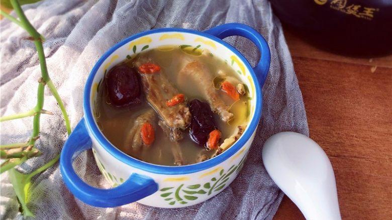 当归鸽子汤,喝汤食肉、每日1次、连续7-10天。