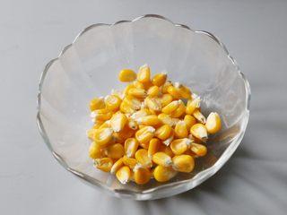 日式土豆沙拉,玉米掰下来备用。