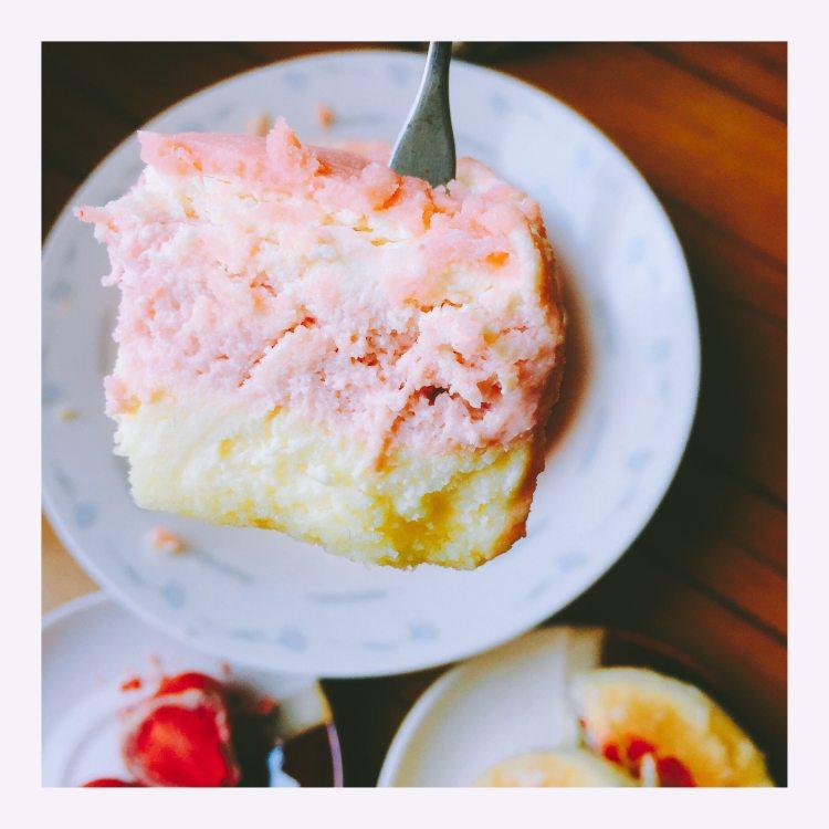 6tua的好利来(玫瑰双层芝士蛋糕、草莓巧克力、玫瑰鲜花饼)