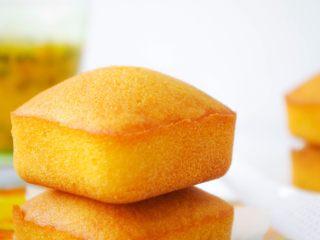 酸甜可口的百香果胖胖糕,成品图