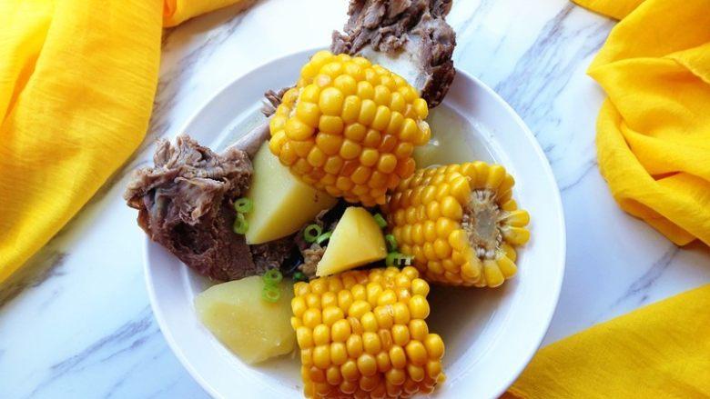秋季滋补靓汤——玉米羊肉汤