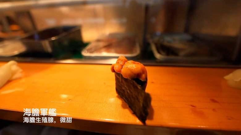 筑地市場的壽司大