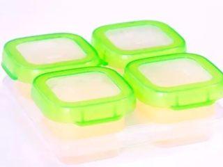 香糯南瓜泥米糊,如果是3天内吃完,放冷藏辅食盒,冷藏即可。