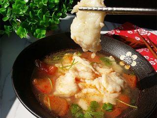 #百搭西红柿#西红柿鱼片汤,鱼片真的很滑嫩,还没有鱼刺哟