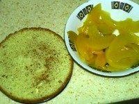 黄桃冻芝士,准备饼底材料