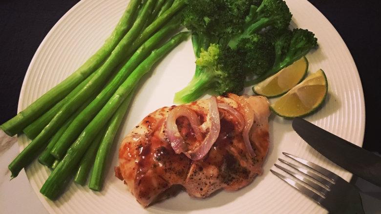 健身减脂餐——香烤鸡胸肉