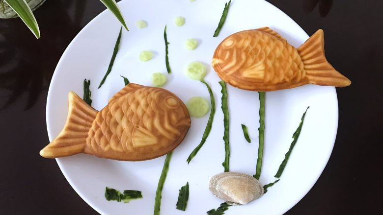 红豆沙鲷鱼烧