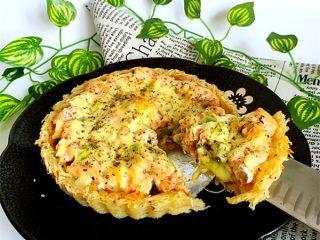 三文鱼牛油果土豆丝披萨