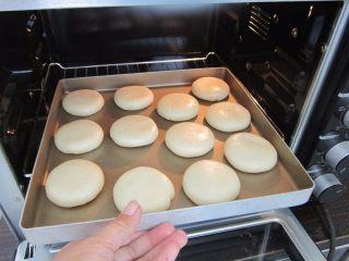 黑芝麻酥饼,放入预热好的烤箱170度,中层30分钟左右。