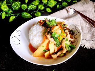 香甜米饭+中华烩饭,开吃