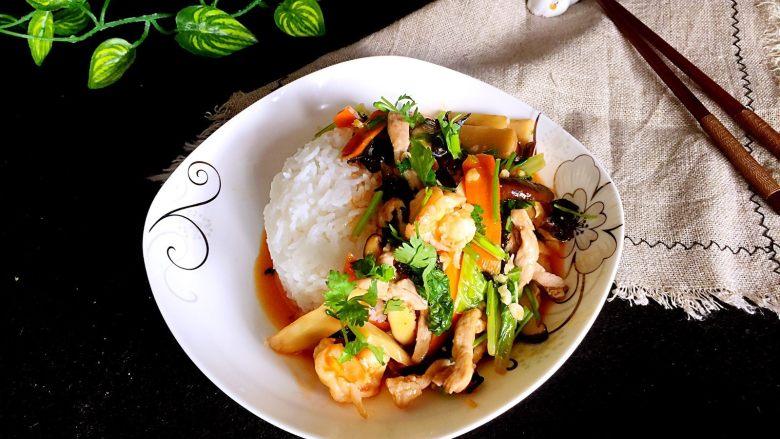 香甜米饭+中华烩饭