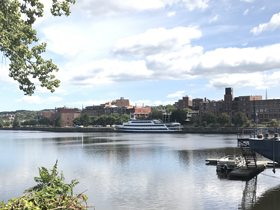 纽约哈德逊河边的美食寻觅记