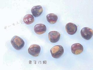 板栗泥 宝宝营养辅食,好吃又营养,食材:板栗