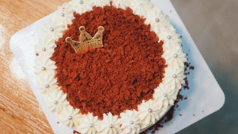 红丝绒奶油奶酪蛋糕