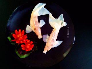 锦鲤寿司,成品图。