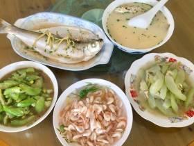探寻苏州美食之二--三山岛农家菜之太湖三白