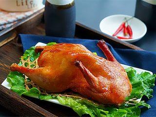 家庭自制脆皮蜜汁烤鸭