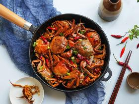 中秋赏月吃螃蟹,新鲜味美食在螃蟹之乡