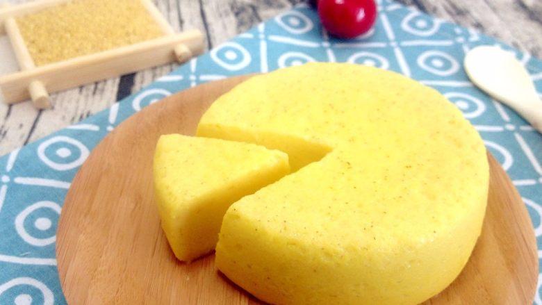 奶香小米布丁,非常嫩滑又香气十足的小米奶布丁就好了。