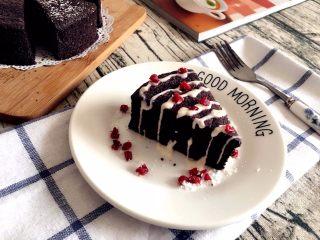 【无烤箱版】黑米蛋糕,美味不可挡~