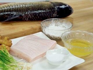 荆楚大地,吃鱼不见鱼——鲜美鱼糕,材料集合~