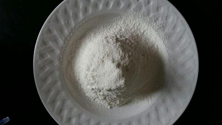 入口即化的棉花蛋糕,低粉过筛备用。