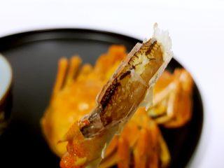 清蒸大闸蟹,19.蟹脚里面也是满满的蟹肉