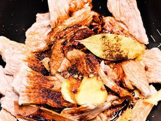 自制手撕牛肉干,放点盐,糖,老抽,生抽。
