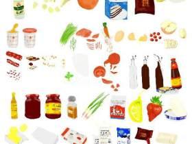 孩子总会从食物里学到些什么