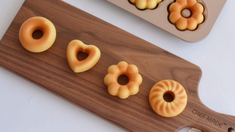 原味甜甜圈,成品图