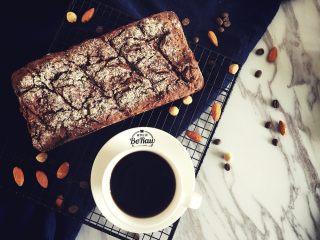 减脂坚果咖啡磅蛋糕