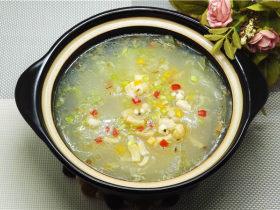 薏米干贝冬瓜煲
