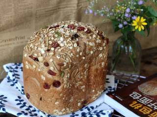 红糖谷物面包