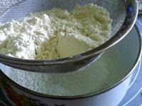 自制熟面粉,过细箩