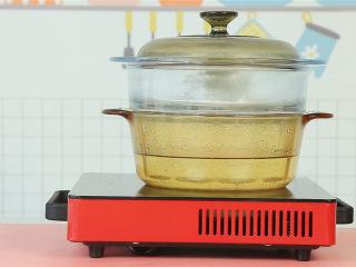 胡萝卜鸡肉卷,冷水上锅,蒸30分钟。