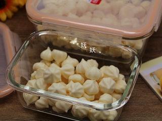 酸奶溶豆,成品