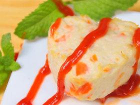 胡蘿卜蓮藕雞塊 寶寶輔食,胡蘿卜+雞胸肉+蓮藕