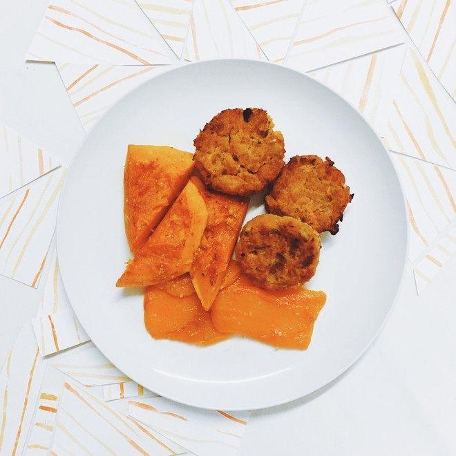 印度风胡萝卜红扁豆小炸饼