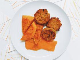 印度風胡蘿卜紅扁豆小炸餅