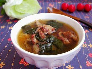 菜干猪骨汤