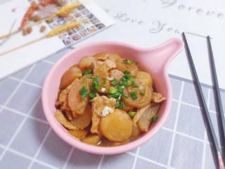 白萝卜炖猪肉,成品