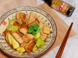 黄瓜烧豆腐