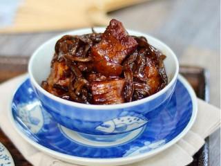 干豆角香焖五花肉