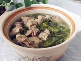 西洋菜鸭肾汤