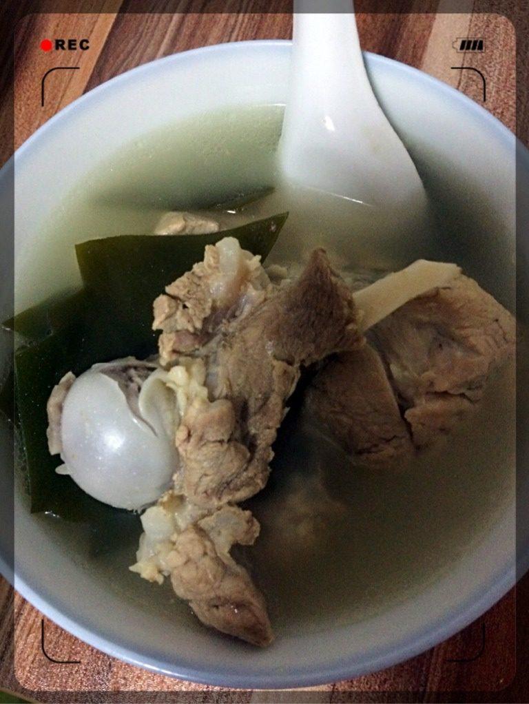 棒骨排骨海带汤