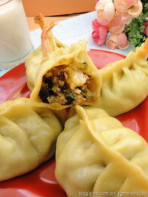 鲜虾猪肉大蒸饺